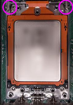 Ryzen Threadripper マザーボードにCPU取付-4
