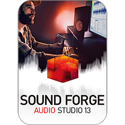 SOUND FORGE Audio Studio 13 ダウンロード版