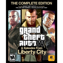 [Rockstar Games] Grand Theft Auto IV: Complete Edition 英語版(WIN)