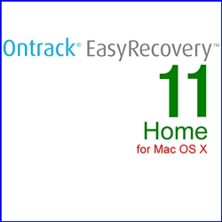 Ontrack EasyRecovery 11 Home for Mac OS X 通常版(MAC)