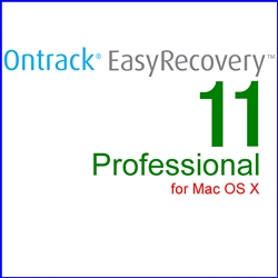 Ontrack EasyRecovery 11 Professional for Mac OS X 通常版(MAC)