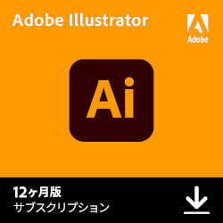 Adobe Illustrator CC 12ヶ月版(WIN&MAC)