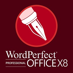 WordPerfect Office X8 Professional(英語版)