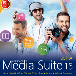 CyberLink Media Suite 15 Ultra ダウンロード版