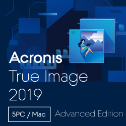 Acronis True Image Advanced Subscription 5 Computers(DL版)