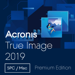 Acronis True Image Premium Subscription 5 Computers(DL版)