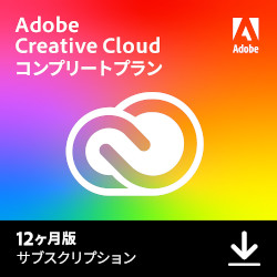 Adobe Creative Cloud 12ヶ月版(WIN&MAC)