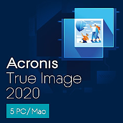 Acronis True Image 2020 5 Computers(ダウンロード版)
