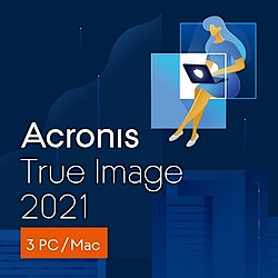 Acronis True Image 2021 3 Computers(ダウンロード版)(WIN&MAC)