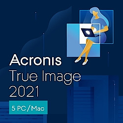 Acronis True Image 2021 5 Computers(ダウンロード版)(WIN&MAC)