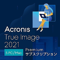 Acronis True Image Premium Subscription 5 Computer(DL)(WIN&MAC)