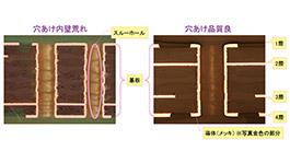 基板品質の比較