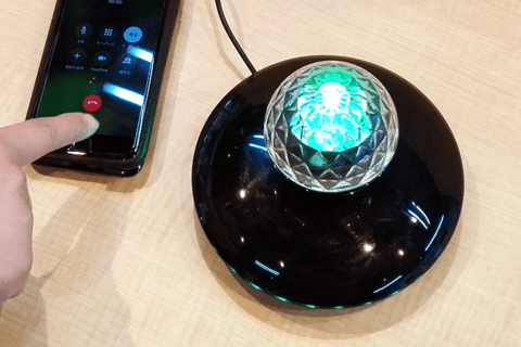 宙に浮くスピーカー「Flash LED」レビュー。Bluetooth接続で音楽もハンズフリー通話も可能のイメージ画像