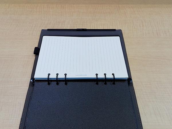 多機能ノート「LOCKBOOK」システム手帳リフィル(A5サイズ6穴)対応