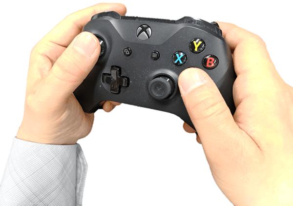 Xbox one ワイヤレスコントローラーを実際に持ってみた感触