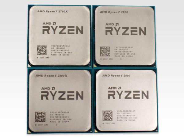 今回発売された第2世代Ryzen