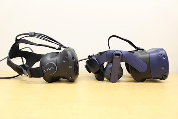 VIVEでは別途ヘッドフォンが必要となっているが、VIVE Proでは高音質なヘッドフォンが標準装備
