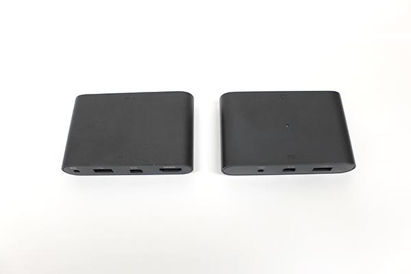 左:VIVE 右:VIVE Pro リンクボックスの大きさはVIVEと変わりが見られないようだ