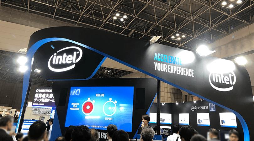 「コンテンツ東京2018」インテル様ブースに4K動画編集PCを出展しました!