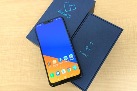 ZenFone 5 ( ZE620KL ) 早速レビュー 2018のイメージ画像