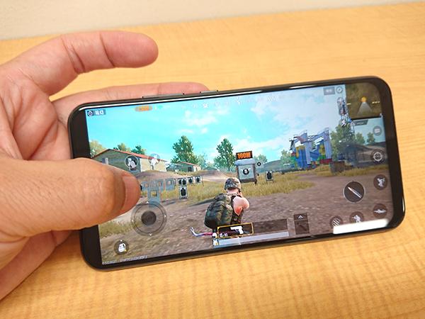 ZenFone5 PUBG MOBILE トレーニングモードで挙動を確認しながら画面設定を調節