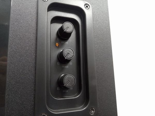 「FW-SM-223AC」3つのコントロールボタン