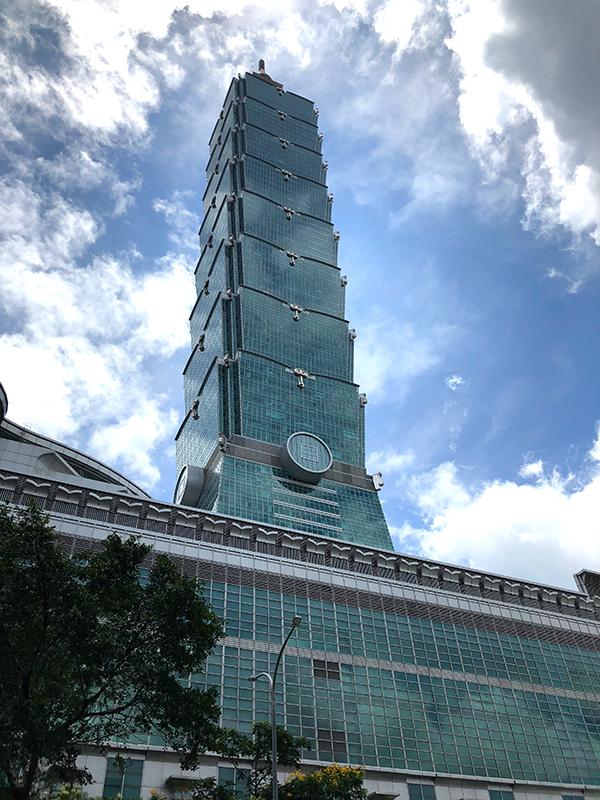 台湾のランドマークタワー台北101