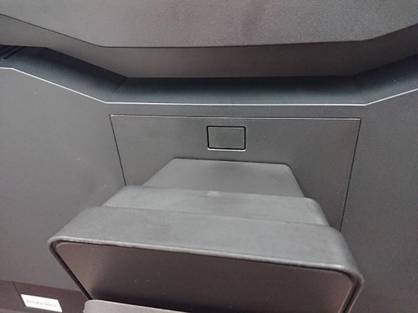EV3285の背面のボタン