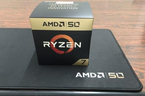 AMD 50 周年記念CPUやマウスパッドをTwitterでGet!パソコン工房NEXMAG 読者プレゼント第20弾!のイメージ画像