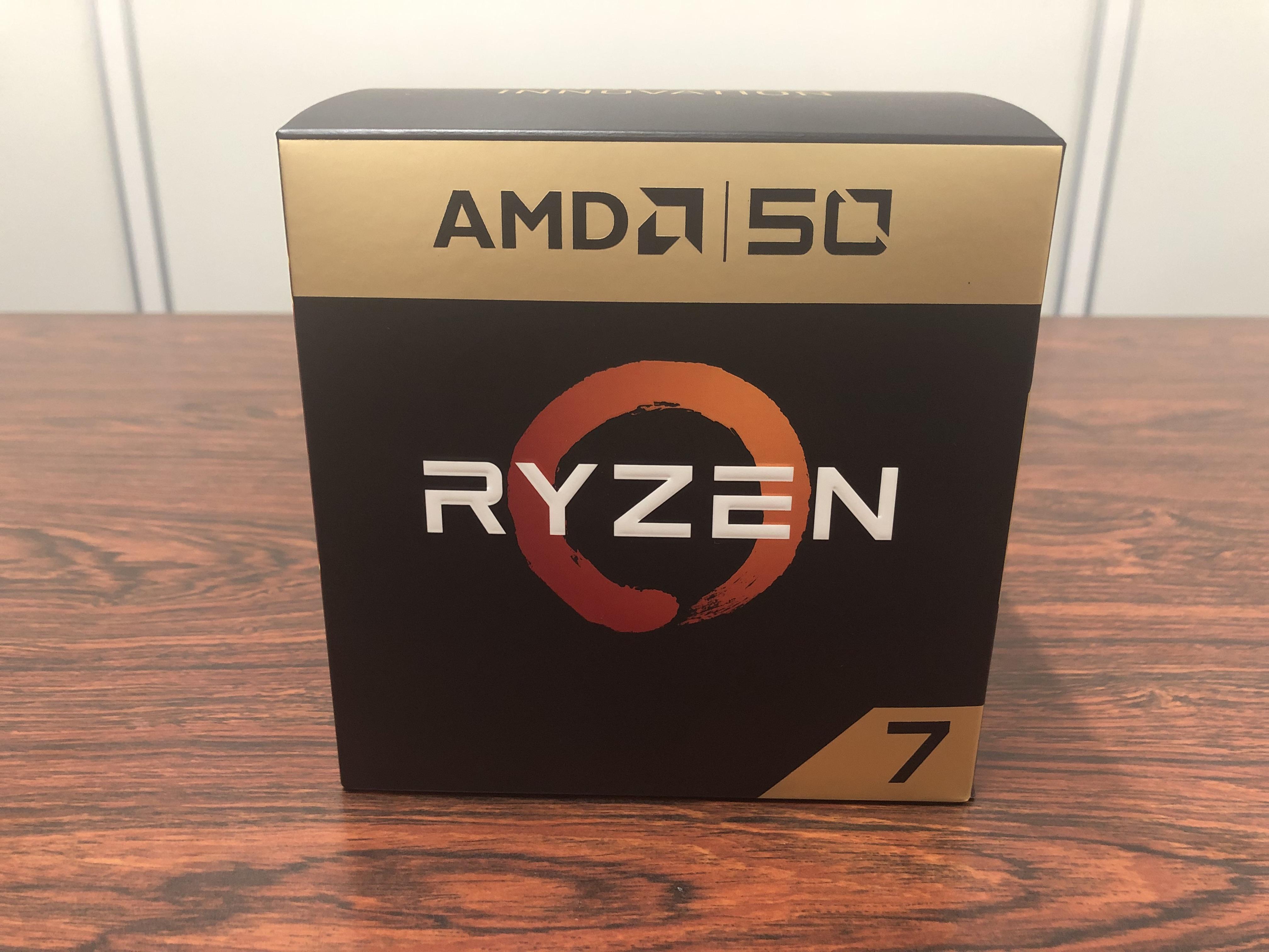 特別仕様のRyzen 7 2700X