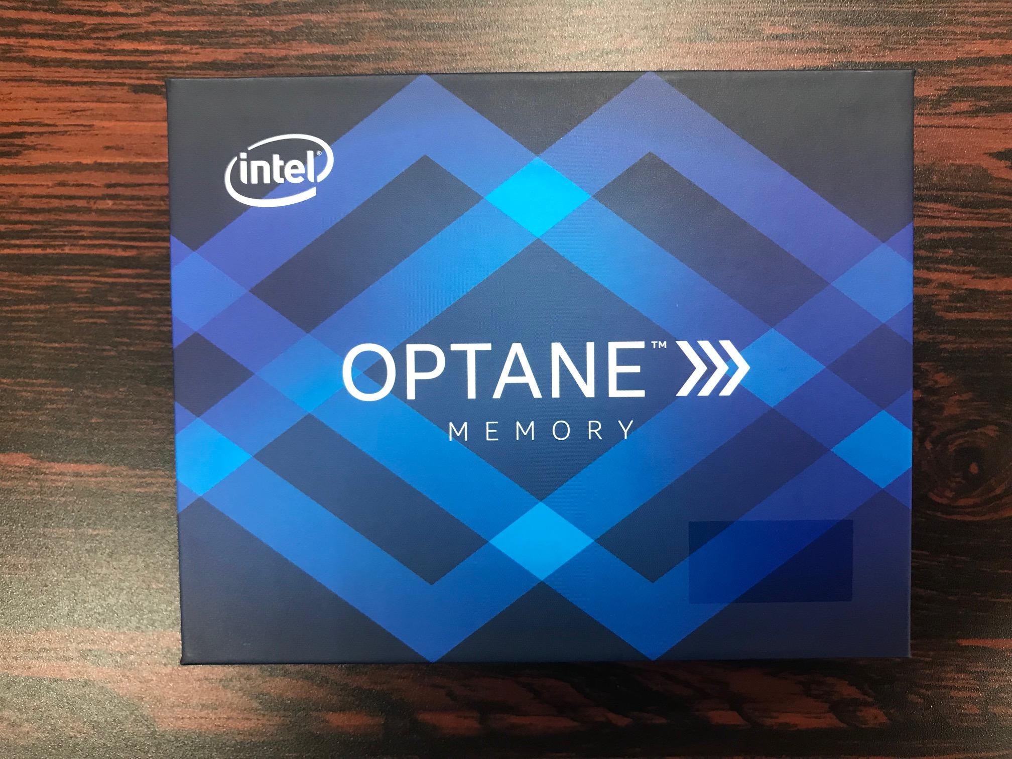 インテルOptaneメモリー(32GB)