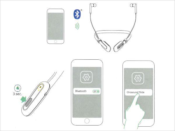 Tilde(ティルデ) Bluetoothのペアリング