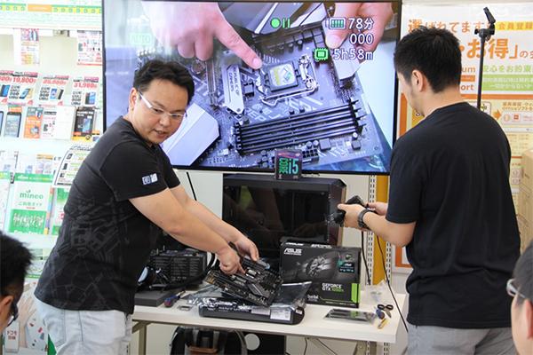 CPUを装着するソケット部分などポイントごとに説明