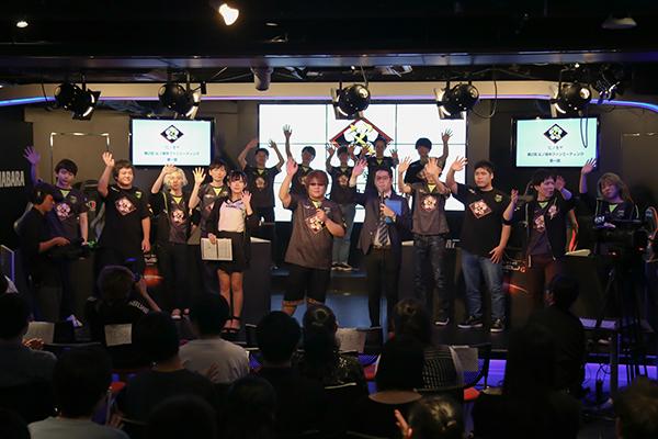 最後は登壇者全員で手を振って挨拶をし、イベントは終了