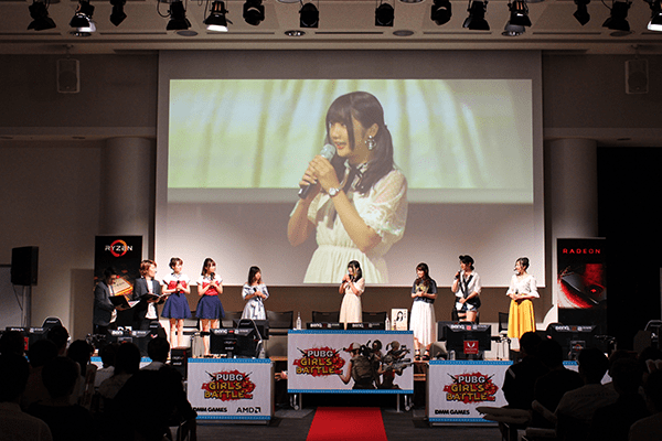 水沢柚乃さんが会場に到着し、ゲストプレイヤー陣が揃いました