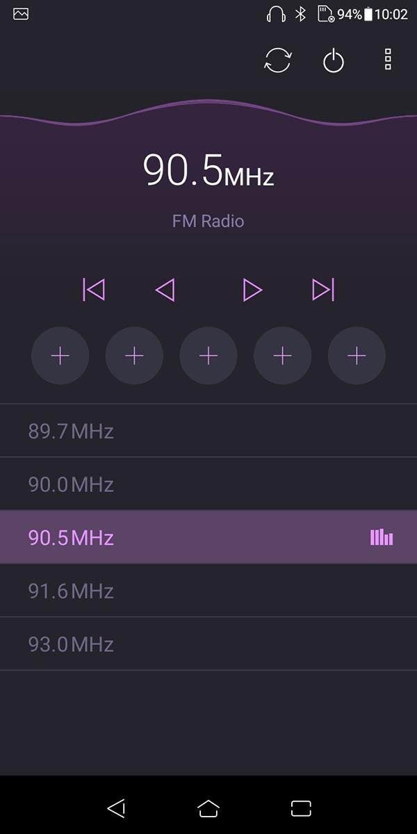 万一の際に役立つラジオ機能です