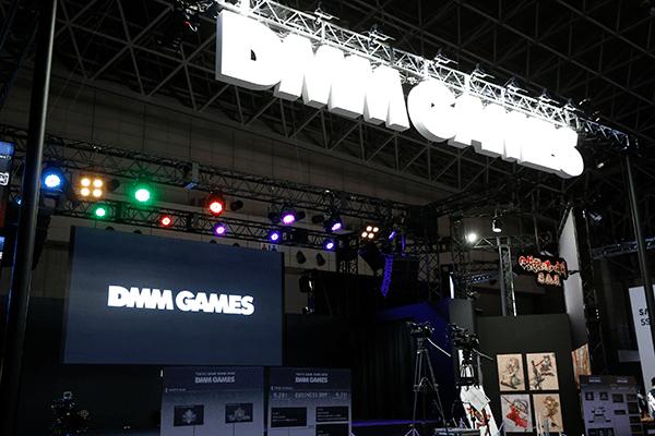 「DMM GAMES」ブース