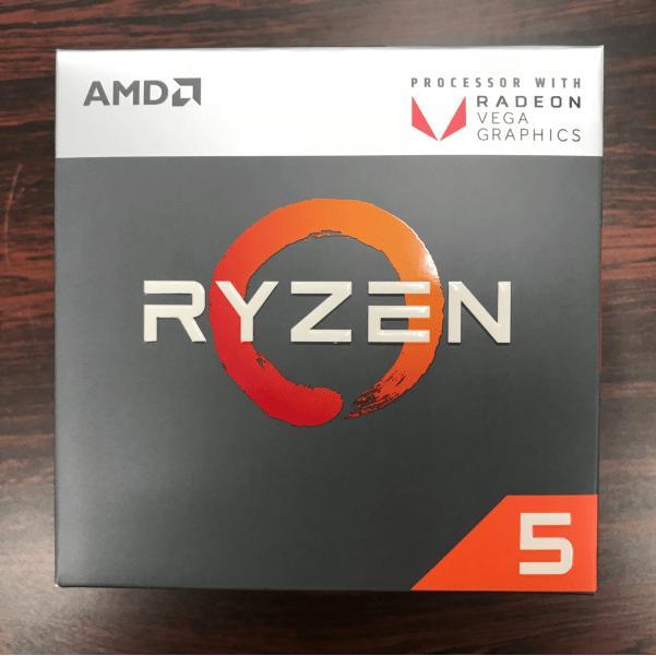 AMD Ryzen5 2400G