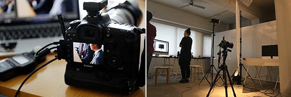パソコンにカメラを接続したまま撮影ができ、セッティングを変えずに大きな画面で写真の確認ができる