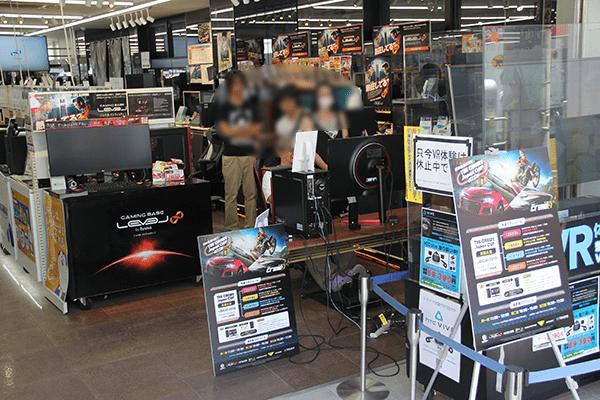 パソコン工房 大阪日本橋店のTHE CREW2 Japan CUP 地方予選会イベントステージ