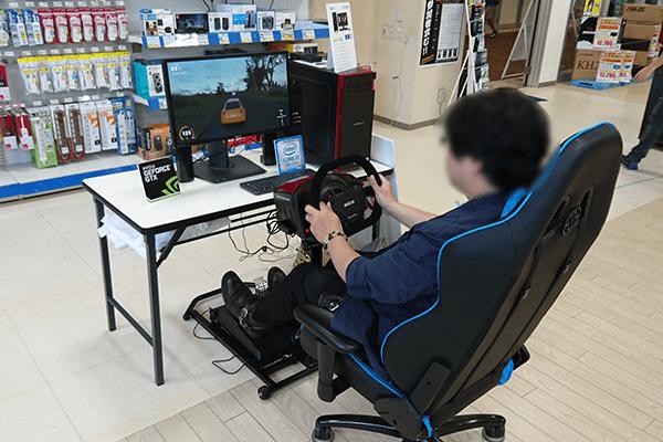 パソコン工房 福岡南店のTHE CREW2 Japan CUP 地方予選会イベントステージ