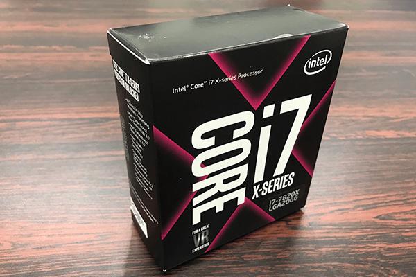 インテルCore i7-7820X