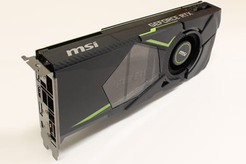 GeForce RTX 2070 速攻ベンチマークレビューのイメージ画像
