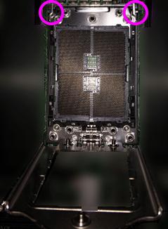 Socket TR4のCPUソケットのフレーム部分
