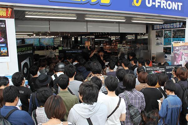 大阪日本橋会場の様子