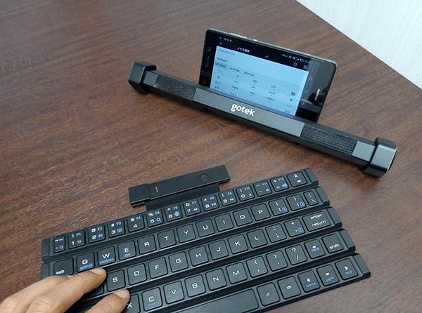 Gotypeのキーボードとスピーカーの分離利用