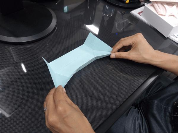 ノートパソコン専用「Foldable JP」の折り方手順①