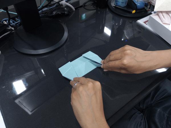 ノートパソコン専用「Foldable JP」の折り方手順②