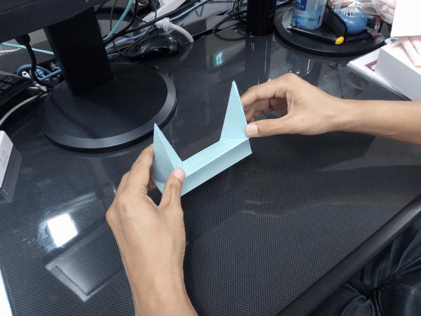 ノートパソコン専用「Foldable JP」の折り方手順③