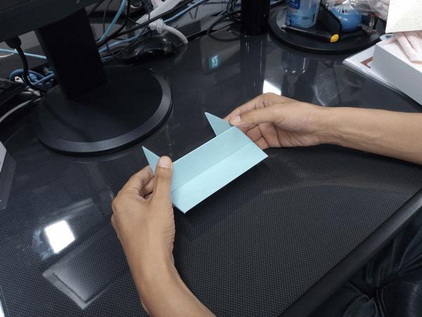 ノートパソコン専用「Foldable JP」の折り方手順④